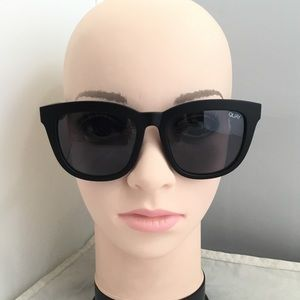 Quay Australia 'Zeus' 54mm Oversize Sunglasses